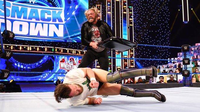 Edge Bryan Smackdown