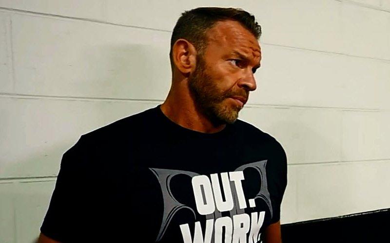 Christian Cage AEW match