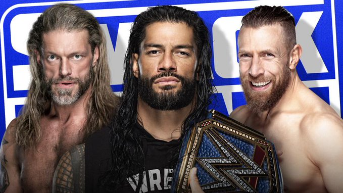 Watch WWE Smackdown Edge Reigns Daniels