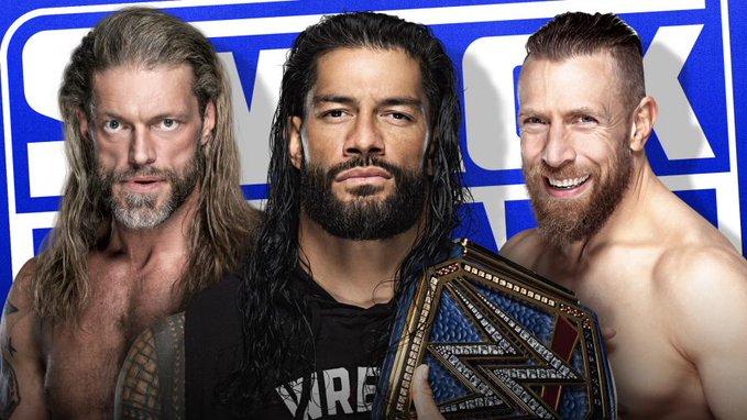 Watch WWE Smackdown Edge Reigns Daniels