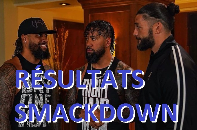 Reigns Smackdown Usos Jimmy Jay